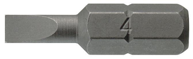 """Puntas planas de 25 mm con vaso 1/4"""" hex 0.6x3.5 mm TENGTOOLS"""