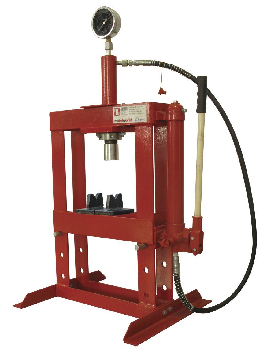 cat83010t hydraulische persen snij plooimachines vynckier tools. Black Bedroom Furniture Sets. Home Design Ideas