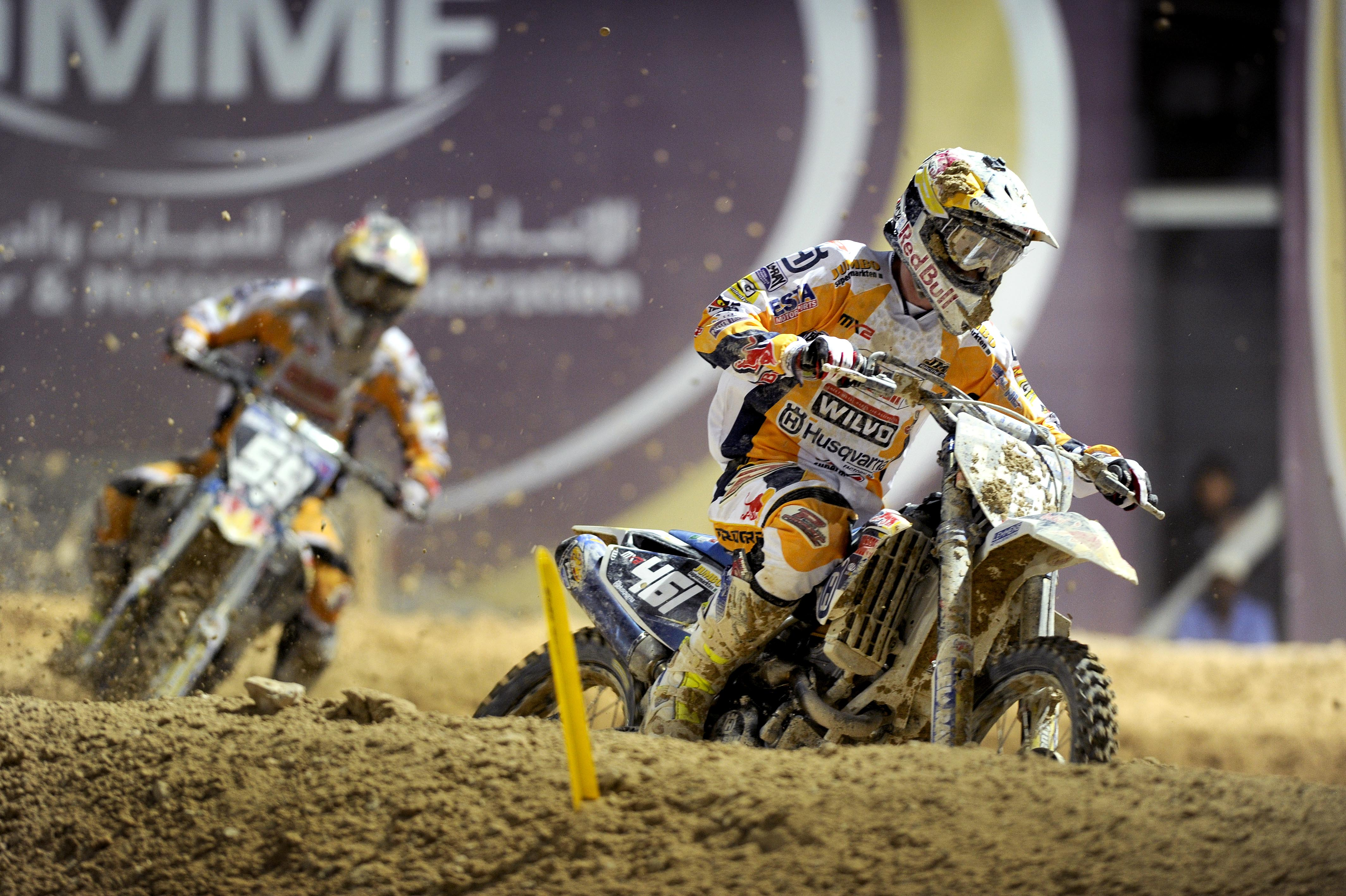 Husqvarna JM Racing Team on stage in Qatar | Sponsorship