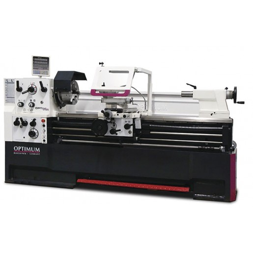 Metal lathe TH5615D with optional chuck