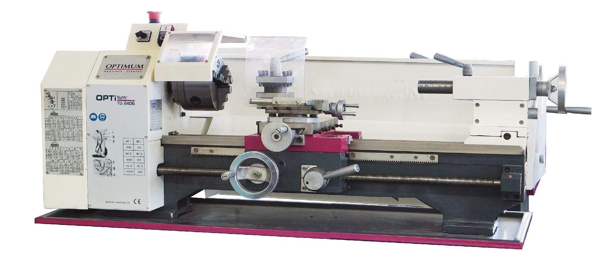 TU2406 400V | Lathes | Metal lathes | Vynckier tools